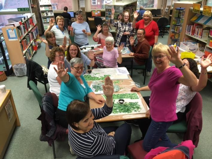 Biggleswade Library group 1