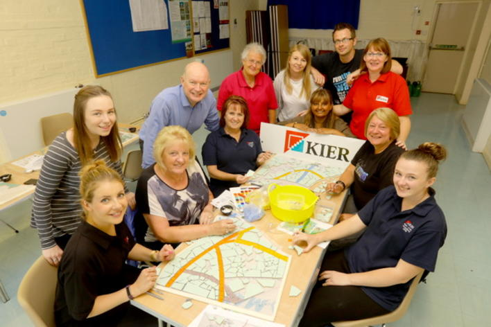 Members of Kier at Kempsford joined us for a day.